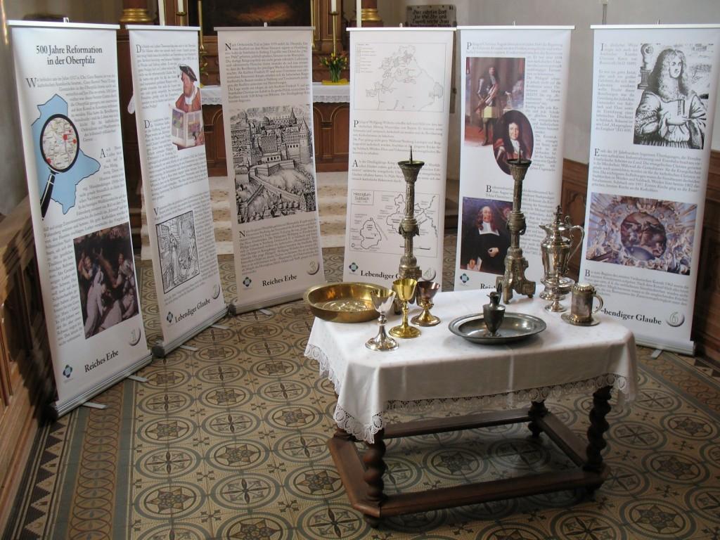 """Ausstellung """"Reiches Erbe - Lebendiger Glaube"""" in Vohenstrauß"""