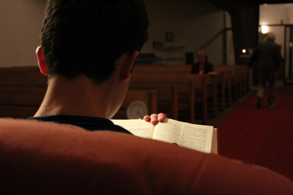 Die Bibel lesen von Anfang bis Ende in St.Markus/ WEN (Foto: Bach-Fischer)