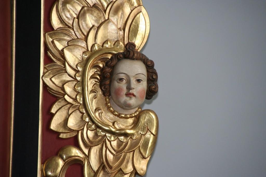 Engel in St. Dionysius in Neunkirchen (Foto: Götte)