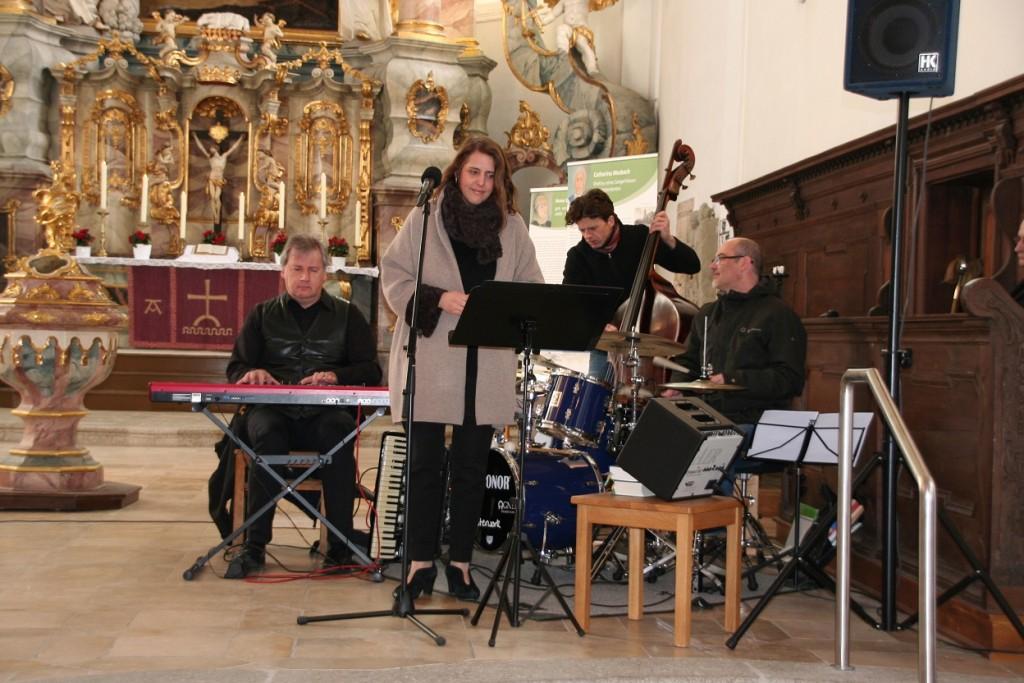 """Konzert beim Gottesdienst zur Ausstellung """"Frauen der Reformation"""""""