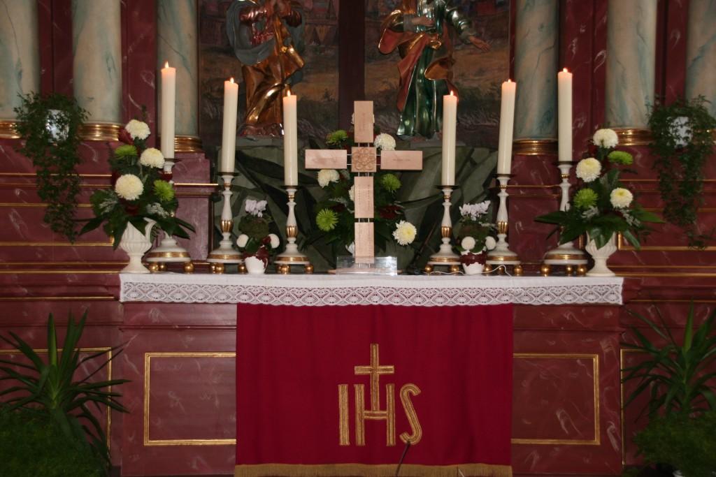 Das Reformationskreuz der Gemeinden in der Kulmregion