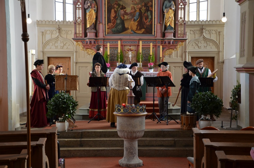 Gottesdienst mit Musik aus der Reformationszeit in Plößberg (Foto: Kirchengem. Plößberg)