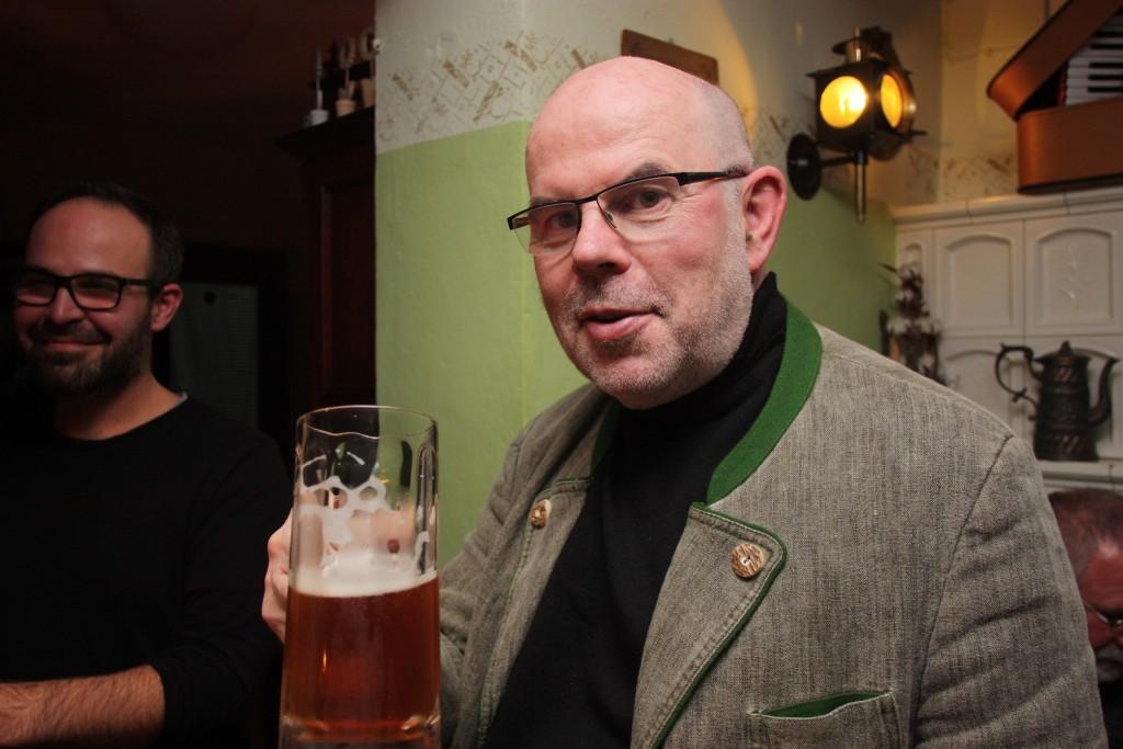 Lutherzoigl des Evang. Männervereins Weiden mit Regionalbischof Weiss (Foto: Rossmann)