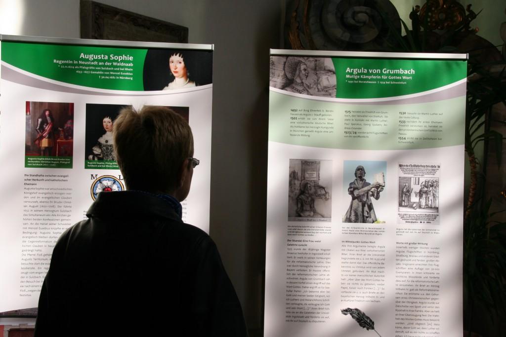 Das Dekanatsfrauenteam recherchierte zu Frauen der Reformationin der Oberpfalz