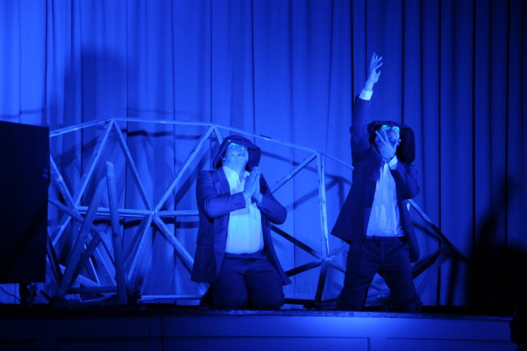 Rund 1.000 Schüler sahen im Februar das Theaterstück Play Luther