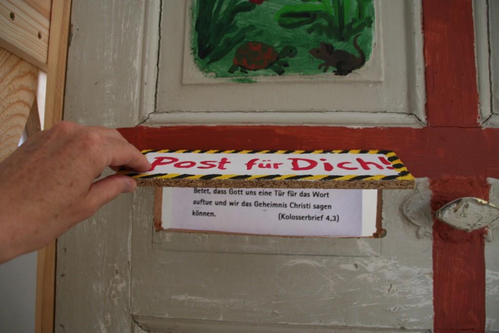 Post für dich!