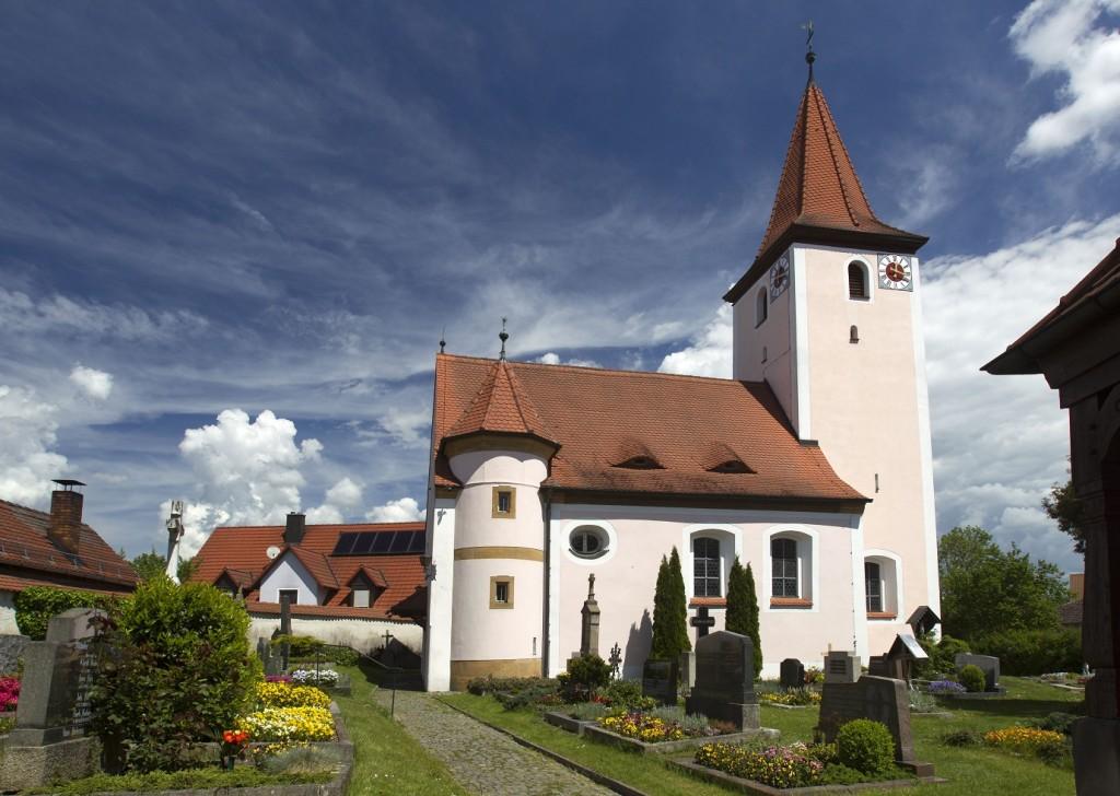 Simultankirche St. Bartholomäus in Rothenstadt (Foto: S. Gruber)