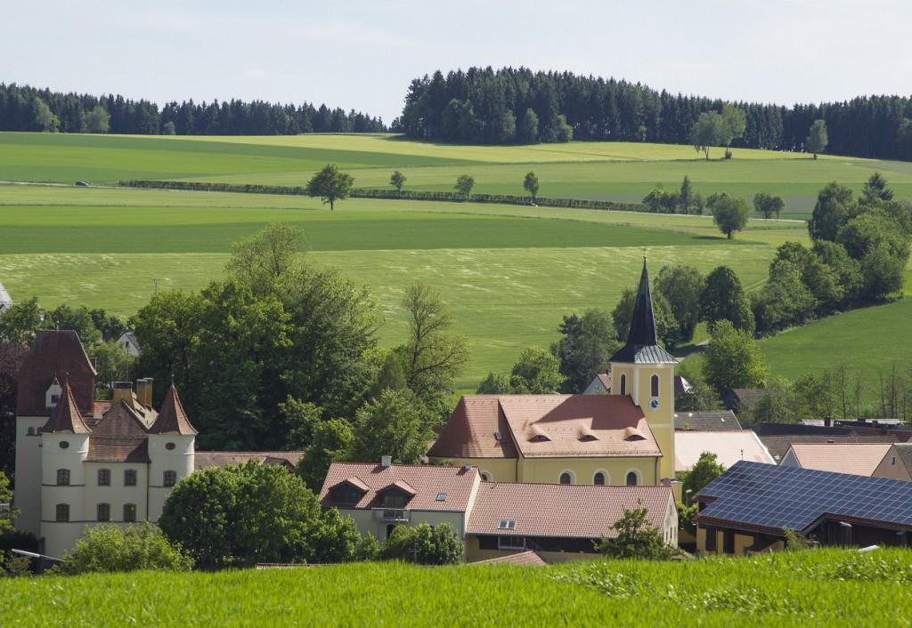 Simultankirche St. Jakobus in Wildenreuth (Foto: S. Gruber)