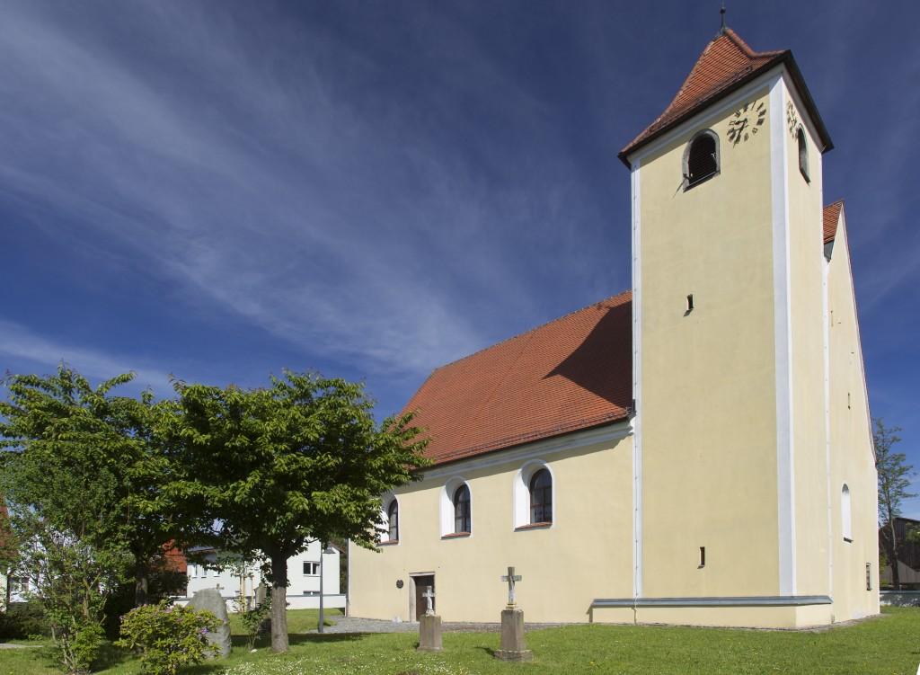 Simultankirche St. Johannes Baptist in Altenstadt bei Vohenstrauß (Foto: S.Gruber)