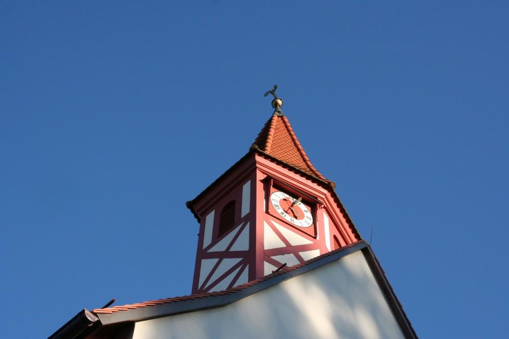 Der kleine Turm von St. Ulrich in Wilchenreuth