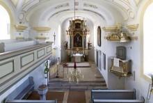 Innenansicht der Leonardikirche